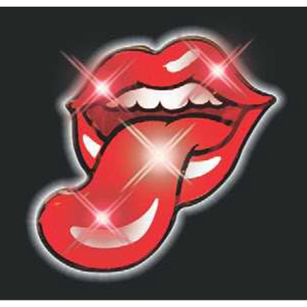 Blinking Tongue and Lips Lights