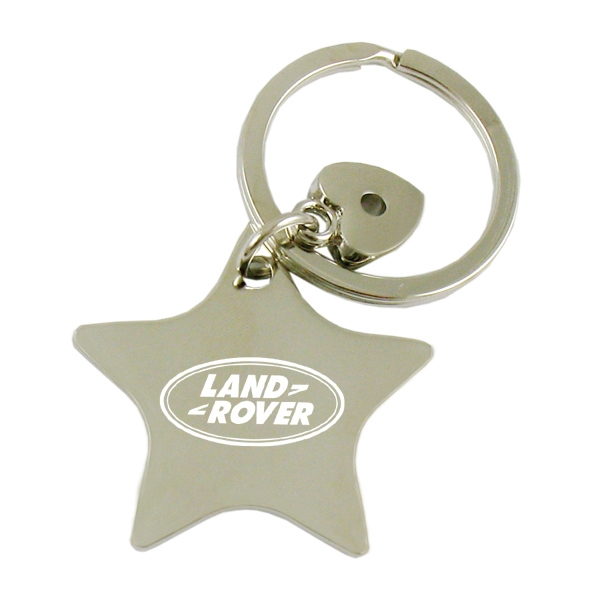 Star Metal Key Tag-Close out