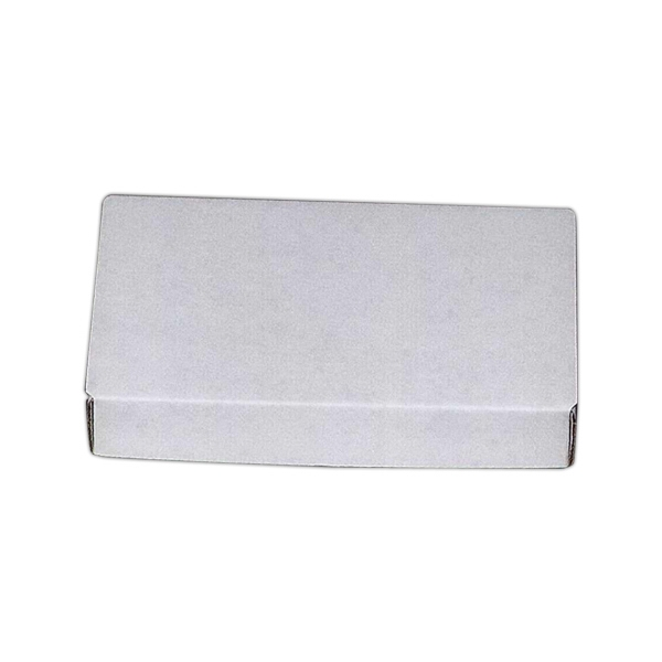 1 Color Lid - E-flute Box This Material Is A Finer Flute And Is Stocked In White Material Photo