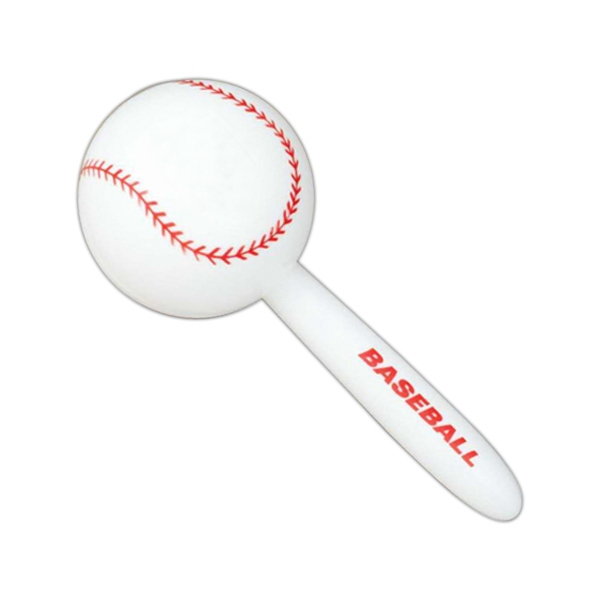 "Baseball - Sport Ball Maraca. 7"" Photo"