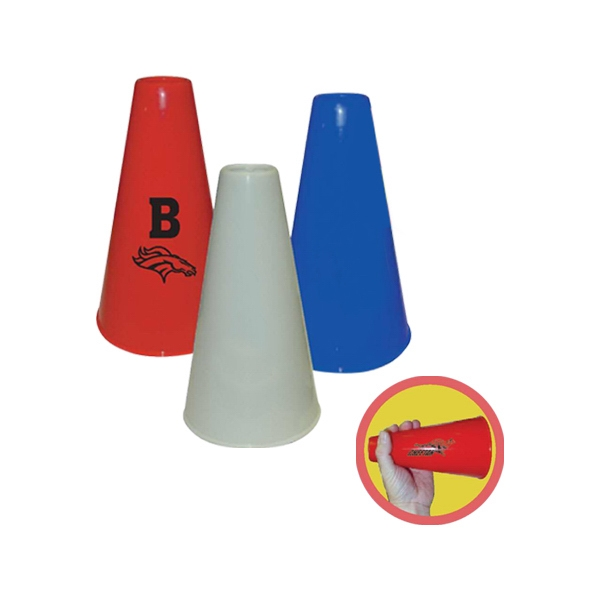 "Plastic Megaphone, Great For Any Outdoor Event! Perfect For Cheering Your Team, 8"" Photo"