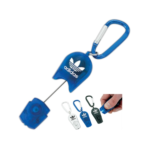 Retractable, Led Carabiner Key Ring Photo