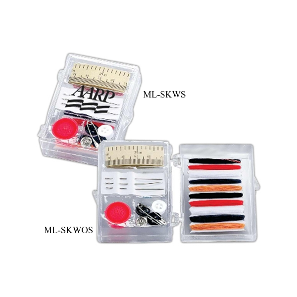 Premium Travel Sewing Kit, In Case With Scissors Photo