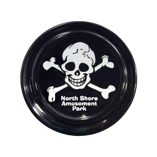 Flying Disc With Imprinted Pirate Design Photo
