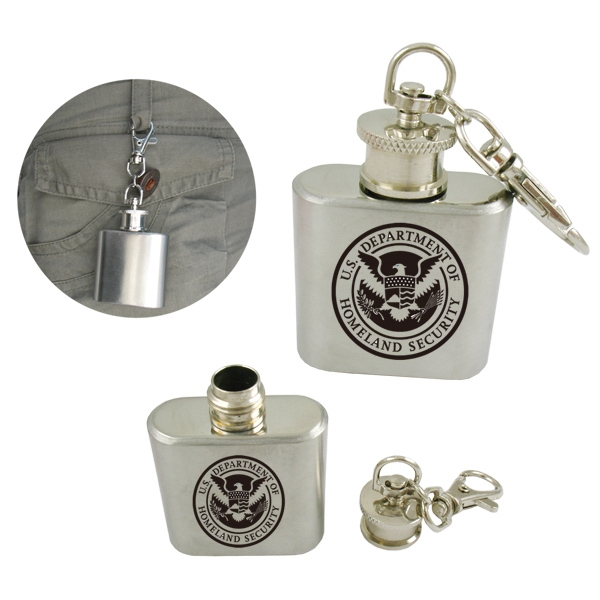 Stainless 1 oz. Steel Flask