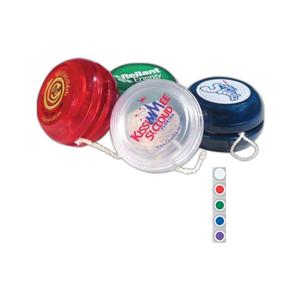 Jewel - Translucent Yo-yo With Trick String And Instructions Photo