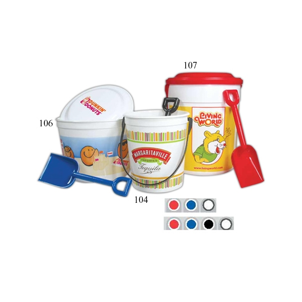 32 Oz - Sand Pail Bucket With A Handle Photo