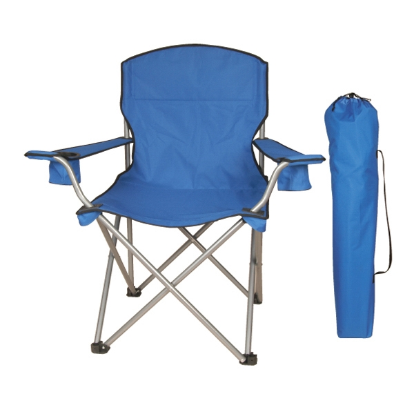 Mega Folding Chair With Carry Case, Arm Rest And 2 Cup Holders Photo