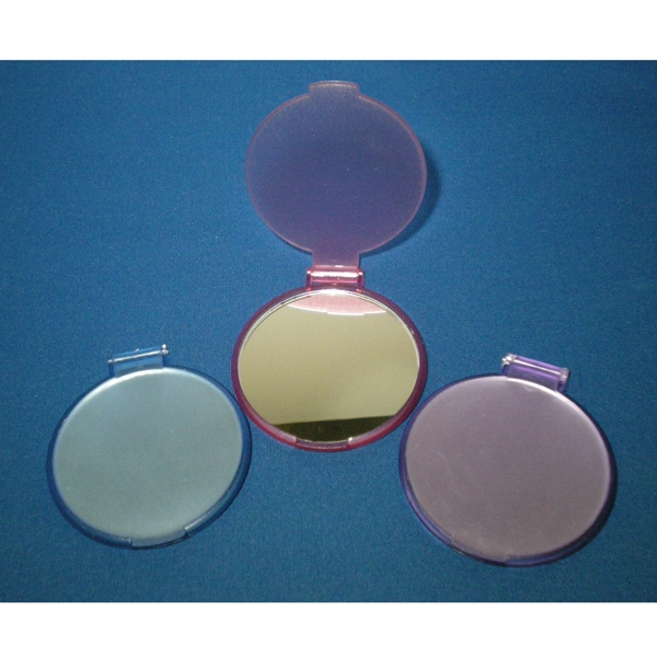"Compact Mirror, Round 2 1/4"" Diameter Photo"