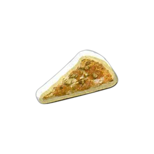 "Pizza Shaped Magnet - Acrylic Die Cut Magnet, 1/8"" Thick, 3 Square Inches Photo"
