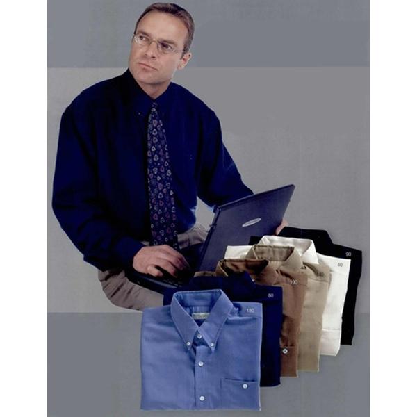 Men's Woven Casual Linen Button Down Shirt