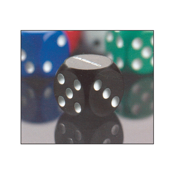 "3/4""loaded Dice Favor Your Company Logo On Each Roll Photo"