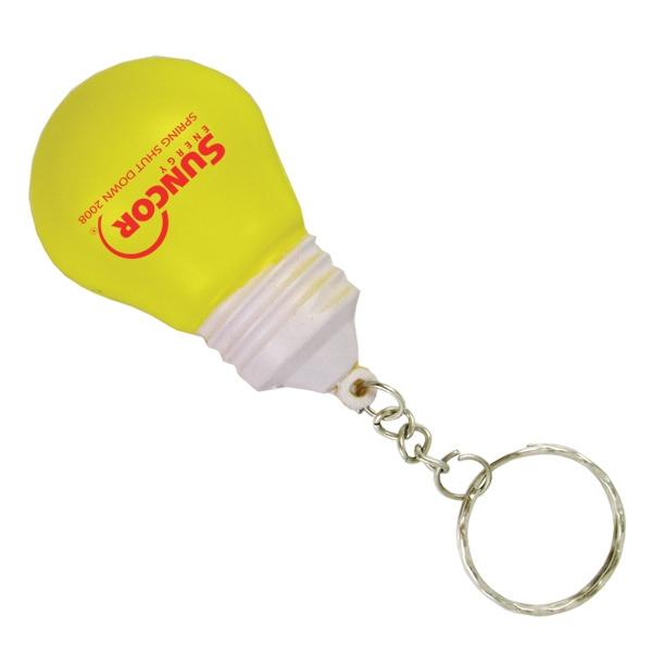 Stress Relievers - Lightbulb Key Chain