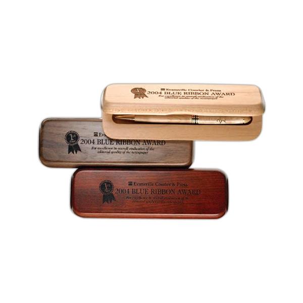 Wood Gift Case Double Slot Case