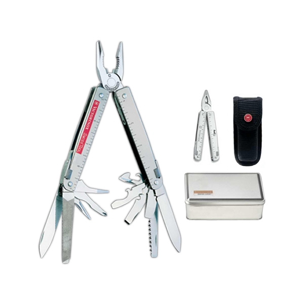 "Swiss Army (r);swisstool (tm) - Multi Tool With One Blade And 26 Additional Features Including Pliers, 4 1/2"" Photo"