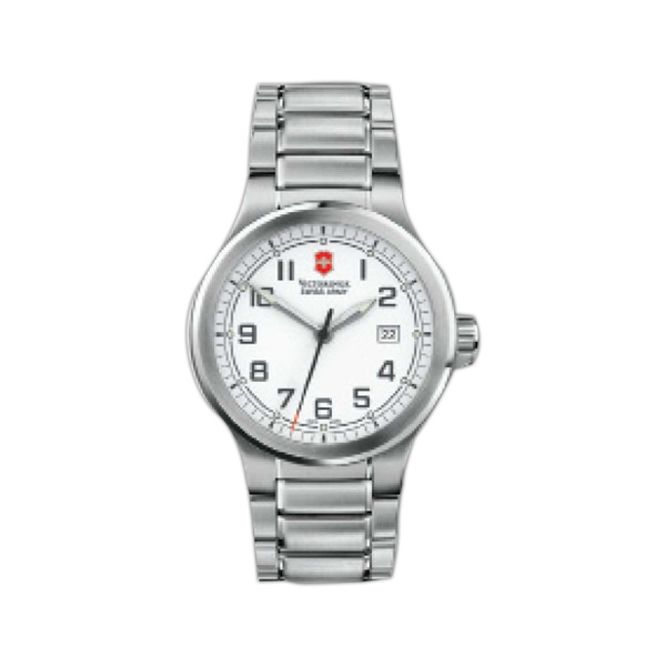 Peak Ii;swiss Army (r) - Watch With Stainless Steel Case And Stainless Steel Bracelet Photo