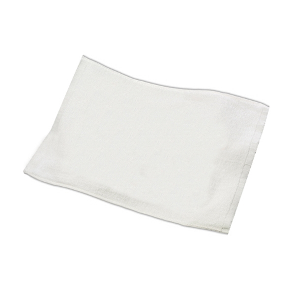 "Blank, 100% Cotton Terry Spirit Rally Towel With Hemmed Ends, 16"" X 19"" Photo"
