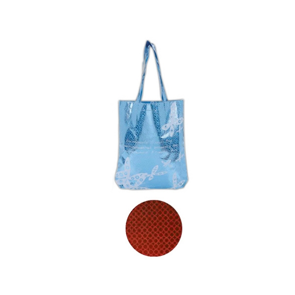 Hologram Non-woven Tote Bag, Long Shoulder Straps Photo