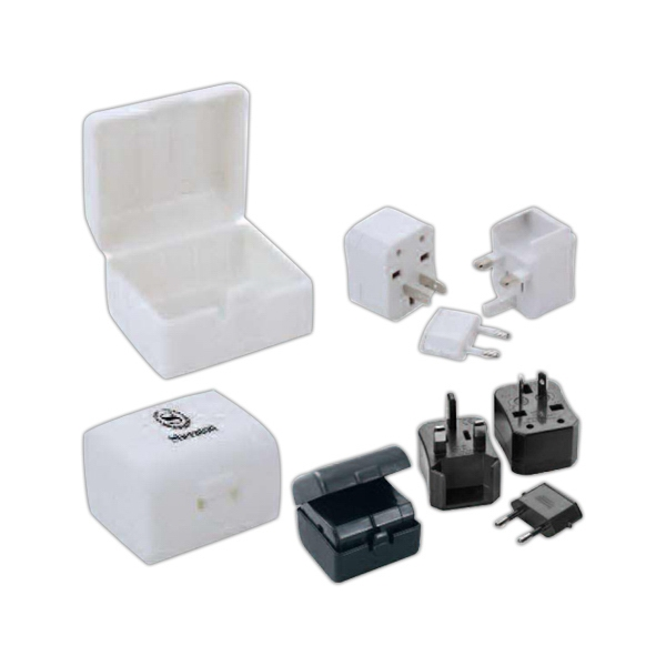 Universal Travel Adaptor With Protective Case Photo