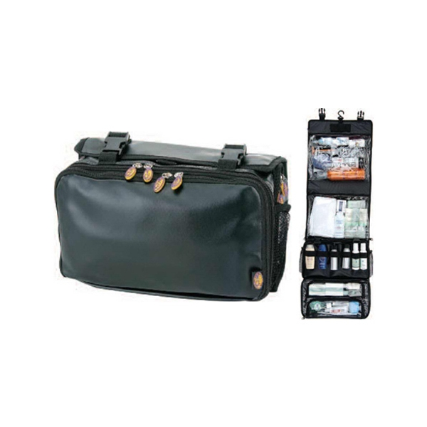 Ultimate Travel Toiletry Bag With Hide Away Hanging Hook Photo