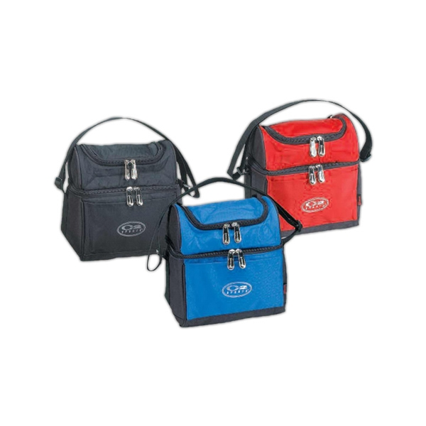 Deluxe Lunch Cooler Made Of 420 Denier Ripstop Nylon With Heat Sealed Lining Photo