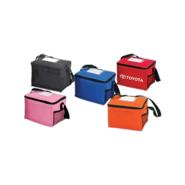 Insulated 6-pack Cooler With Zippered Closure Photo