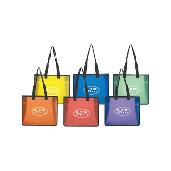 Clear Poly Board Tote Bag Photo