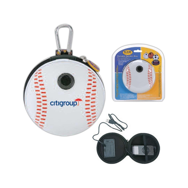 Portable Baseball Speaker Bag Equips With 3.5 Cm Speaker Photo