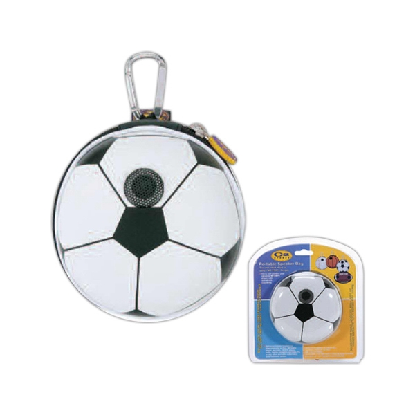 Portable Soccer Speaker Bag Includes Usb Cable To Any Usb Port Photo