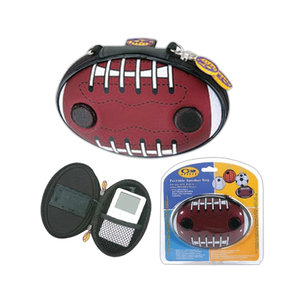 Portable Football Speaker Bag Made Of Pu Leather And Eva Photo