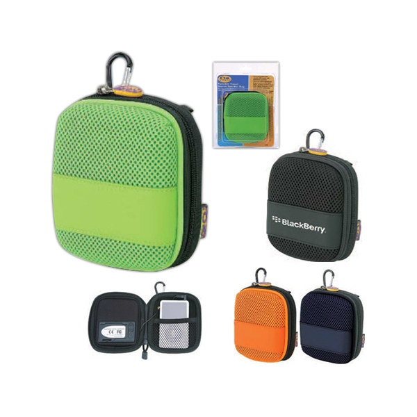 Portable Travel Stereo Speaker Bag Made Of Pu Leather And Eva Photo