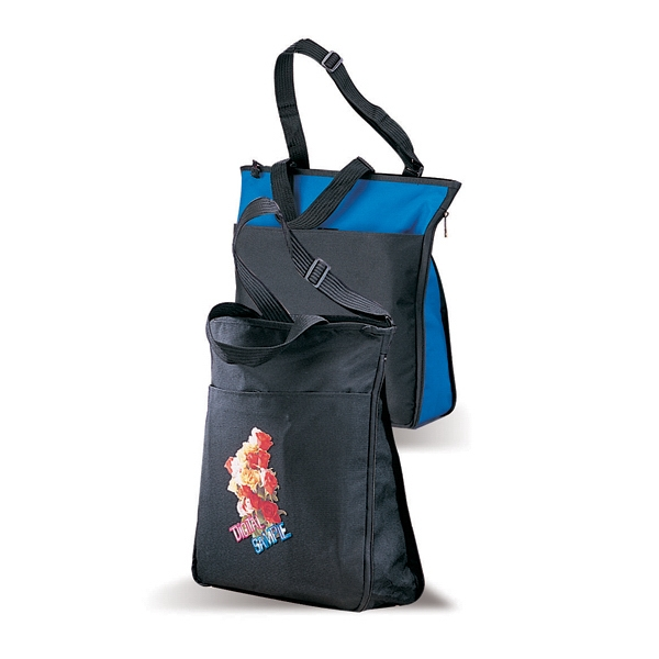 Zipit - Canvas Tote Bag With Zippered Gusset Photo