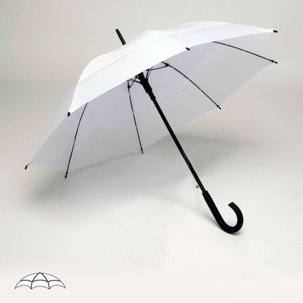 "Solarteck (r) Collection Windy City (r) - Double Canopy 48"" Umbrella Made From A Specially Treated Fabric Photo"