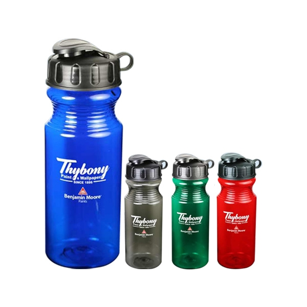Cool Water - Plastic 21 Oz. Sports Water Bottle, Bpa Free, Lead Free Photo