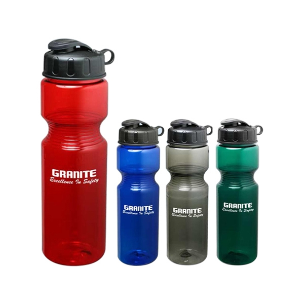 Cool Planet - Plastic 28 Oz. Sports Water Bottle, Bpa Free, Lead Free Photo