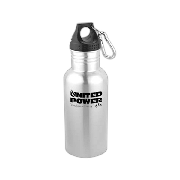 Apollo - 18 Oz. Stainless Steel Bottle With Carabiner Photo