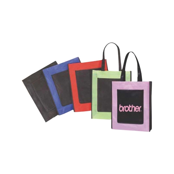 Economy Tote Bag Made Of Non-woven Polypropylene Photo
