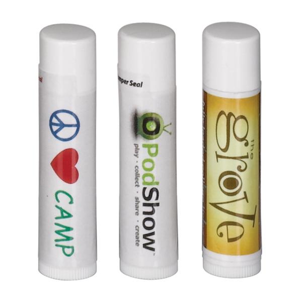 SPF 30 Soy Lip Balm in White Tube