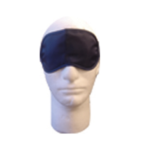 Blue Satin Sleep Mask Photo