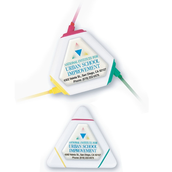 Tri-Color Triangle Highlighter