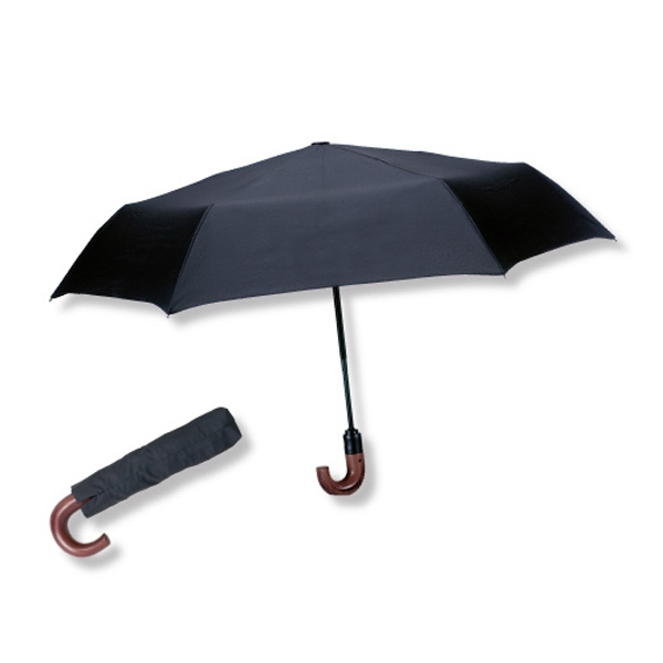 "The Crew - 42"" Arc, Automatic, One Touch Open/close Mini Folding Umbrella Photo"