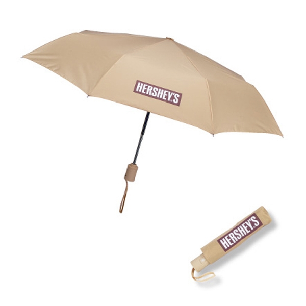 "Executive - Automatic One Touch Open/close Mini 43"" Arc Folding Umbrella Photo"