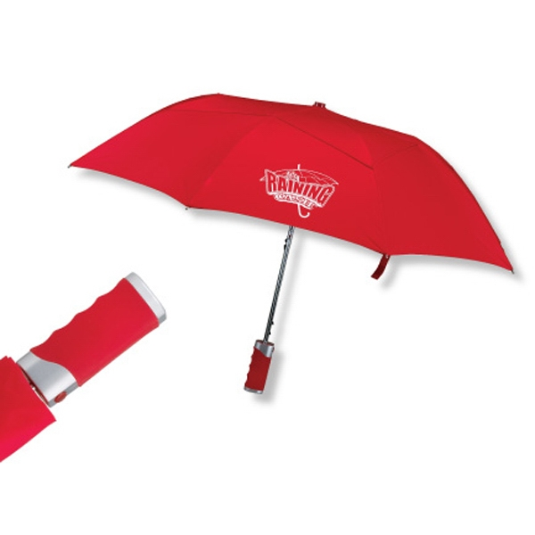 "Geleez - Automatic Opening Nylon 43"" Arc Umbrella With Vented Technology Photo"