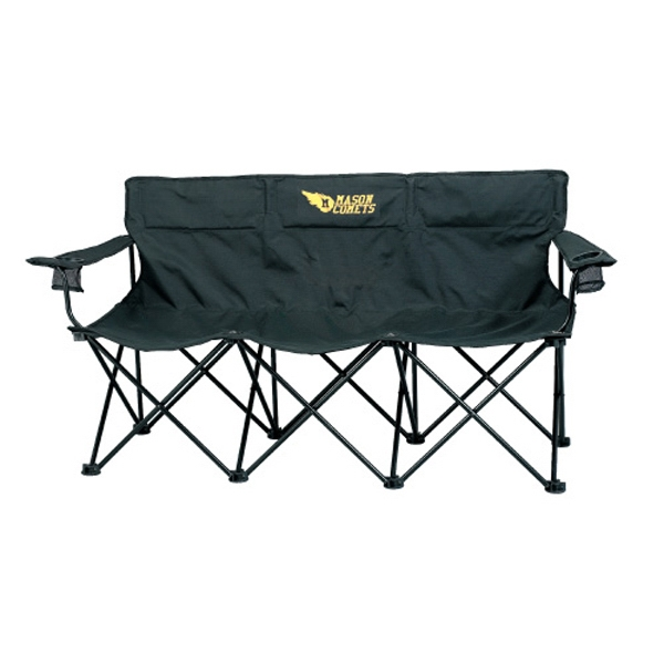 The Trio - Portable Sport 3 Person Chair Made Of 600 Denier Polyester Photo