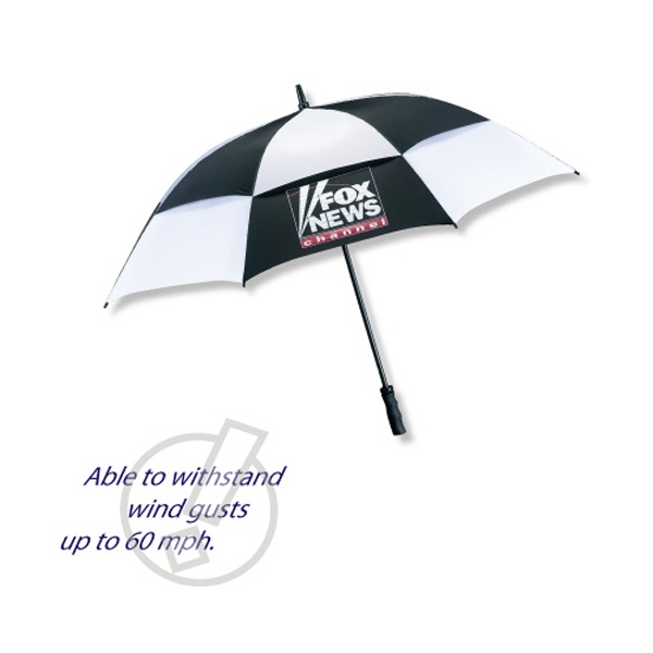 "The Mvp - Vented Technology Golf Umbrella Made Of Nylon, 62"" Arc Photo"