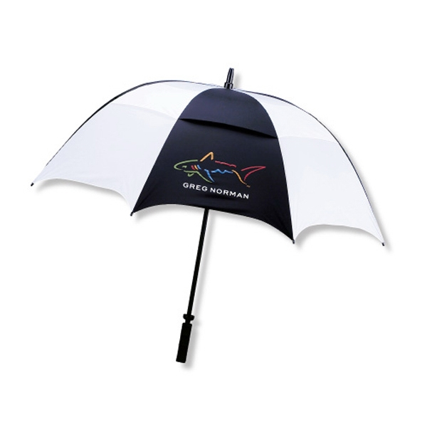 "The Ultra Force - Nylon Golf Vented Technology 58"" Arc Umbrella With A Fiberglass Shaft Photo"