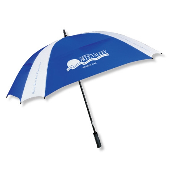 "The Cyclone - Square Design Vented Technology 62"" Arc Umbrella Photo"