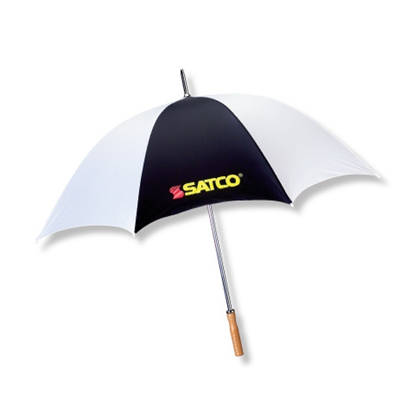 "The Booster - Sport/golf 60"" Arc Umbrella With Steel Shaft/double Ribbed Construction Photo"