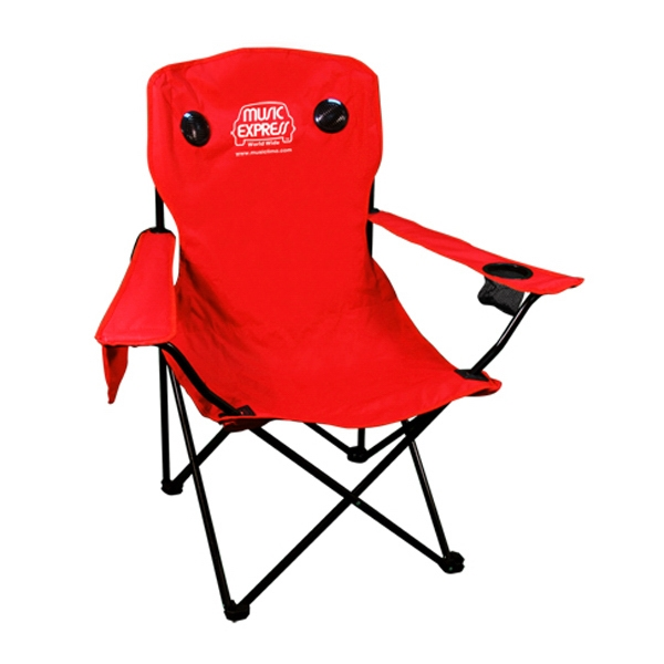 The Tune-gate - Connect Your Ipod While Relaxing In This Sport Chair With Speakers Photo
