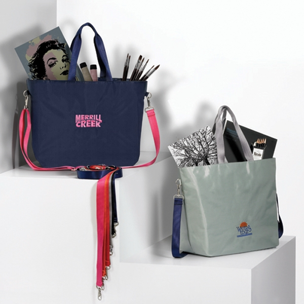 Threads Color Pop - Tote Bag With Mix And Match Color Strap Photo